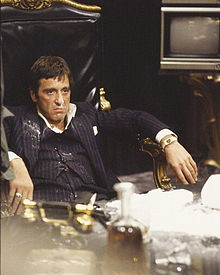 Not all characters change for the better...Al Pacino in Scarface